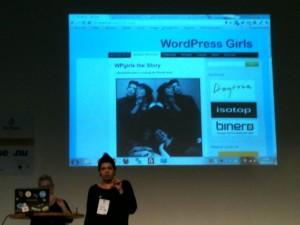Terese och Anna från WP-girls