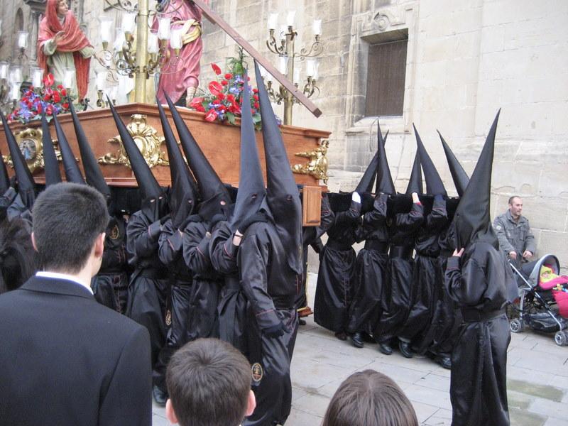 Semaná santa-procession i Navarra
