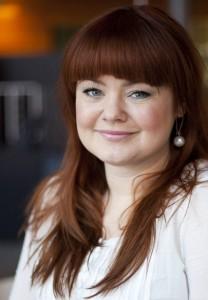 Anna-Carin Carnebro är intervjuad av bloggen Sociala molnet