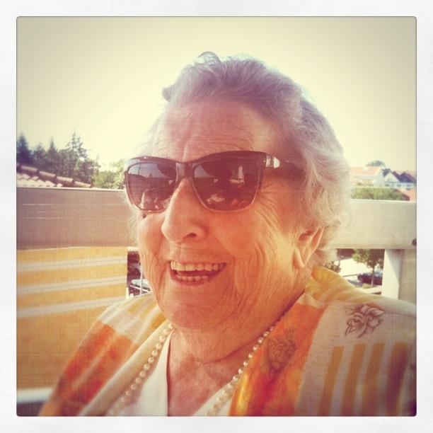 Mormor har alltid varit något av en fashionista