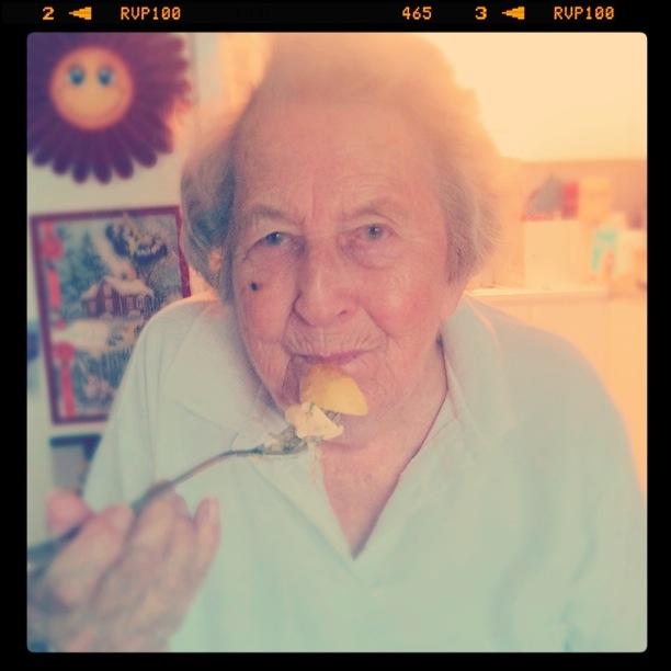 Mormor gillar potatis
