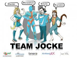 Hjälp mitt lag i Ökampen, TeamJocke