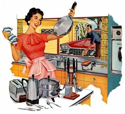 Jämställt hushållsarbete i praktiken under min uppväxt