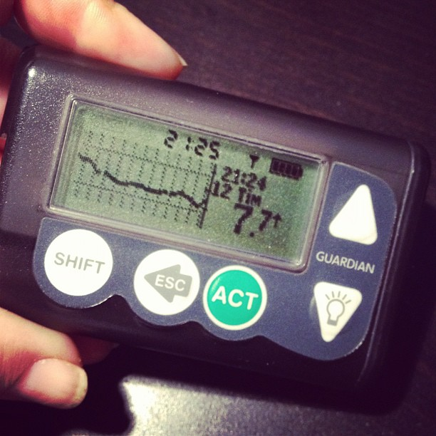 Sensor och mätare för vävnadsglukos