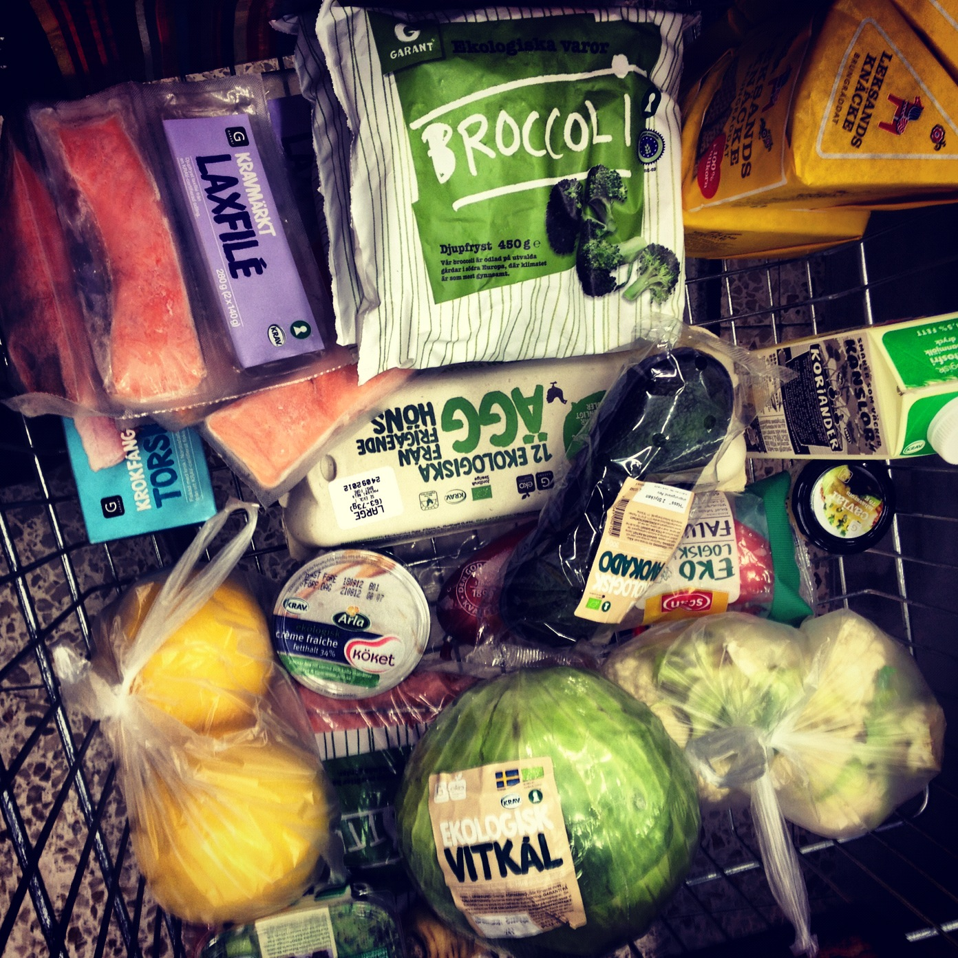 Ekologisk mat är ett måste