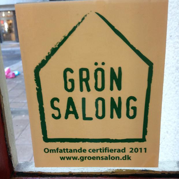 Grön Salong är en märkning för miljömedvetna frisörer