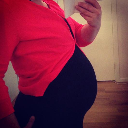 Magen vecka 26
