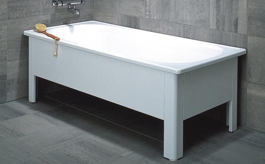 Snart står ett sånt här emaljerat badkar från Svedbergs i mitt badrum