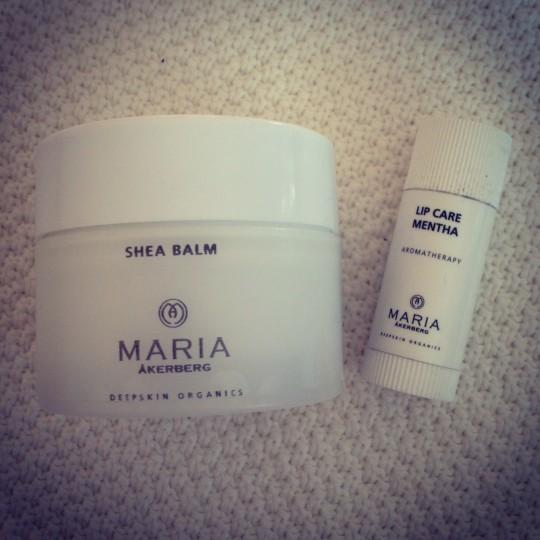 Maria Åkerbergs produkter som funkade mot mina torra läppar