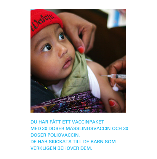 Gvobevis unicef allt annat n slacktivism