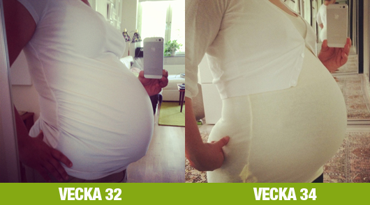 magen vecka 34